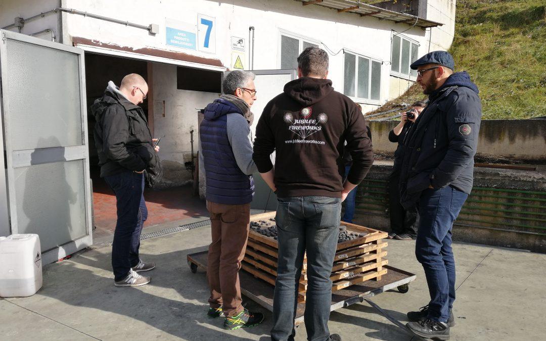 """La vetrina Italiana del """"Made in Italy"""" della Pirotecnica si affaccia al mercato estero"""